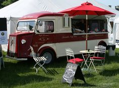 Citroen HY Van by mickyman13, via Flickr - gorgeous two-tone - a great inspiration for our paint work.