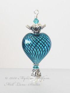 Turquoise Purfume Bottle
