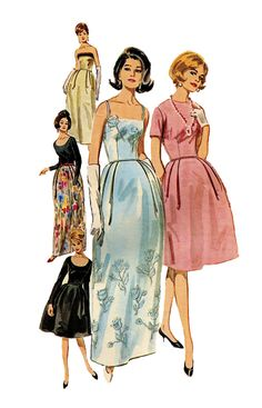 Vintage 1960s Butterick 2906 Womens by DesignRewindFashions, $17.00