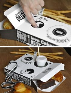How to create a packaging design with the company logo? We wrote easy instruction which will help you to create a great packaging design! Burger Packaging, Takeaway Packaging, Smart Packaging, Food Packaging Design, Beverage Packaging, Coffee Packaging, Brand Packaging, Fastfood Packaging, Packaging Ideas