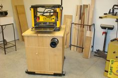 Planer Dust Collection Stand - by captferd @ LumberJocks.com ~ woodworking community