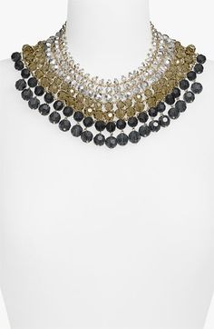 bib necklace.