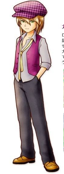 Cam, a bachelor from Harvest Moon: Tale of Two Towns. My personal favorite <3