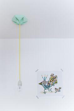 Kroonuppe paper ceiling flower