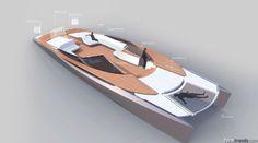 Felicitas Steinbrecher Amity 17 Catamaran Tender concept