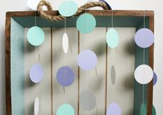 Mint Green Purple Lavender and White 12 ft Circle by FancifulChaos, $10.00