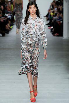 Matthew Williamson Spring 2014 Ready-to-Wear Fashion Show - Ewa Wladymiruk