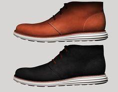 #Nike x #ColeHaan Lunargrand Chukka Boots