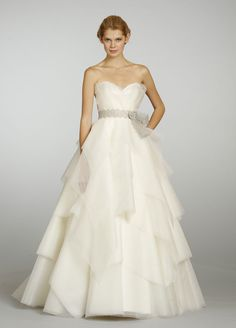 Alvina Valenta 9306.  It's good to see how ahead of the trend I was when putting together my dream dress - this style was impossible to find last year, and now they're all over!