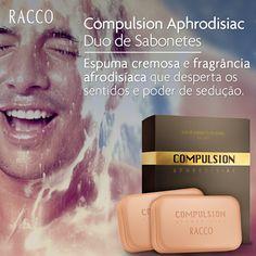 Relaxe com um banho refrescante, com espuma densa e a fragrância sedutora da Deo Colônia Compulsion Aphrodisiac!  #banho #banhorelaxante #compulsion #aphordisiac #racco