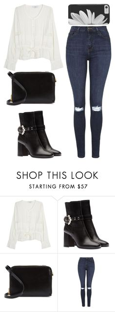"""""""Random #77"""" by feykaze ❤ liked on Polyvore featuring IRO, Sophie Hulme and Topshop"""