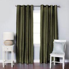 Brielle Fortune Faux Dupioni Silk Lined Insulated Room Ebay