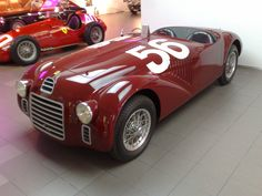 The 125 S was the first vehicle to bear the Ferrari name when it debuted on May 11, 1947 at the Piacenza racing circuit. Only two were built.