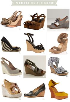 Wedges! Love these...