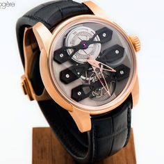 Modern take on an icon, the NeoTourbillon with 3 bridges captured by passion-horlogere