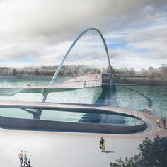 Amanda Levete and Hopkins are among the architects shortlisted to design a new pedestrian and bicycle bridge across London's River Thames