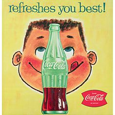 Love this vintage Coke ad.
