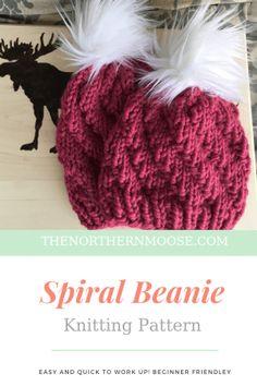 4b772653cc4f8 Free beanie knitting pattern Loom Knitting