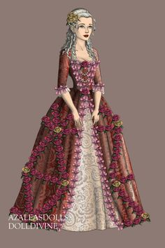 Lady in Pink by LunaLaura ~ Folk and Historical Dress Up