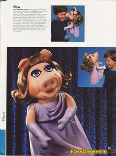 The official 1978 Muppet Catalog. Um, how awesome is THAT?! This link is awesome.  AND I HAD THIS puppet!!! I LOVED her!!!