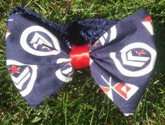 Nautical sailor crochet headband infants by SugarAndSpiceBowShop, $6.00