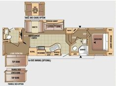 Montana Fifth Wheel Floor Plans With Two Bathrooms