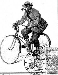 Histoire de la poste à Bournezeau. Un facteur rural 1894.