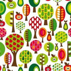 Maaike Boot  Color tree pattern