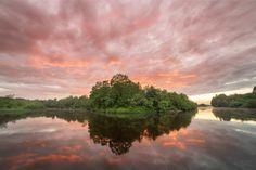 Sunset on Plussa river River, Sunset, Outdoor, Inspiration, Sunsets, Outdoors, Biblical Inspiration, Outdoor Living, Garden