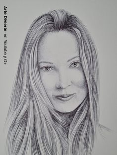Cómo dibujar un retrato con bolígrafo
