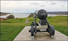 Fort Anne, Annapolis Royal, Nova Scotia, Canada | Fort Anne is a four-star fort built to protect the harbour of Annapolis Royal, Nova Scotia. The fort repelled all French attacks during the early stages of King George's War. Now designated a National Historic Site of Canada, it is managed by Parks Canada. A 1/2 km trail runs along the fort's earthen walls, and provides a view of the Annapolis River and basin. Wikipedia