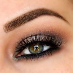 Urban Decay Revolt (electric palette) on center lid // Mac Carbon in inner and outer