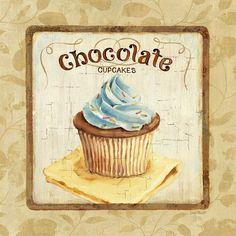 Oi lindas!!!!!  Esses dias estou in love com cupcakes, estou até pensando em fazer uns de feltro e percebi também que minha cozinha estava p...