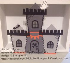 Stampin' Up! Holiday Catalogue 2016, Sweet Home bundle - Halloween!!!!!