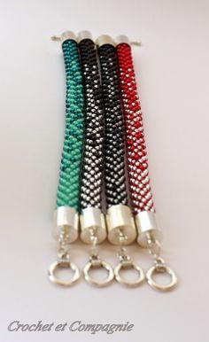Hook és a társaság: Diagram karkötő fele-fele Crochet Bracelet Pattern, Crochet Beaded Bracelets, Bead Crochet Patterns, Bead Crochet Rope, Seed Bead Bracelets, Bracelet Patterns, Diy Jewelry, Beaded Jewelry, Handmade Jewelry