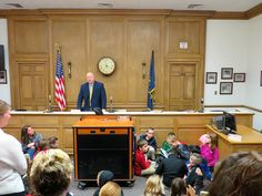 Washington Discovery Academy 2nd grade students took a field-trip to the Plymouth Mayor's Office on Thursday.   Mayor Mark Senter met with students in the Common Council Chambers and spoke about our local city government and our city history.   The WDA second graders are learning about their community government, how government works, as well as learning about important people in the community. This project is also covering the history of Plymouth.