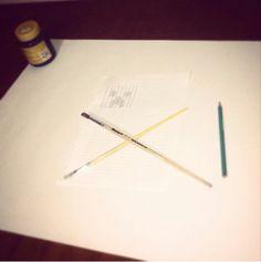 Começo de pintura #creeper