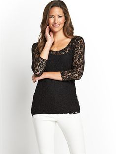 Bubble Lace Top, http://www.littlewoodsireland.ie/savoir-bubble-lace-top/1408775390.prd  23