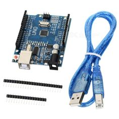 UNO R3 ATmega328P Development Board w/ USB Cable for Arduino. Color Blue + Black + Multi-Colored Model N/A Quantity 1 Set Material Copper clad + components Chipset ATmega328P English Manual / Spec Yes Download Link www.wch-ic.com/download/list.asp?id=126 Packing List 1 x Development board 4 x Pins 1 x USB cable. Tags: #Electrical #Tools #Arduino #SCM #Supplies #Boards #Shields
