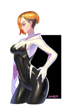 Spider gwen is soooo hot Marvel Girls, Comics Girls, Marvel Art, Marvel Heroes, Spiderman Art, Amazing Spiderman, Marvel Spider Gwen, Spider Girl, Thicc Anime