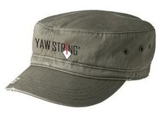 YS District® - Distressed Military Style Soaring Hat.