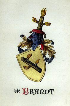 Wappen der Familie Brandt / Coat of Arms of The Family Brandt