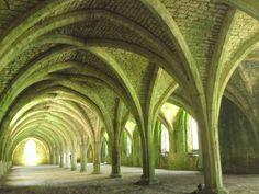 Fountains Abbey Vault