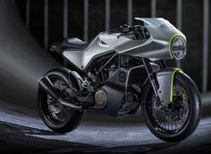Husqvarna vitpilen 401 AERO concept motorycle; EICMA 2016
