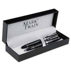 First Class range of corporate gifts solutions and promotional products in South Africa. National Reach with Personalised Service! Corporate Outfits, Corporate Gifts, Promo Gifts, Metal Pen, Mark Twain, Pen Sets, Ballpoint Pen, Louisiana, Writing