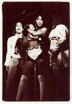 Classic Prince | Prince Lovesexy Tour '88 laughing and having a good time on stage with Cat and Boni Boyer!