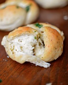 Fluffy Parmesan Herb Rolls from Yammie's Noshery