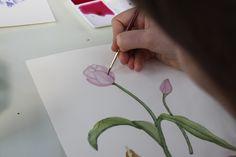 watercolor flower tutorial - Google Search