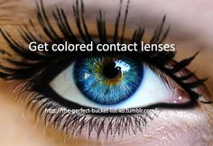 Get colored contact lenses