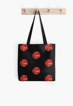 'Rott'n' All Over Print Tote Bag, print design by Asmo Turunen. #design #totebag #shoppingbag #kestokassi #atcreativevisuals